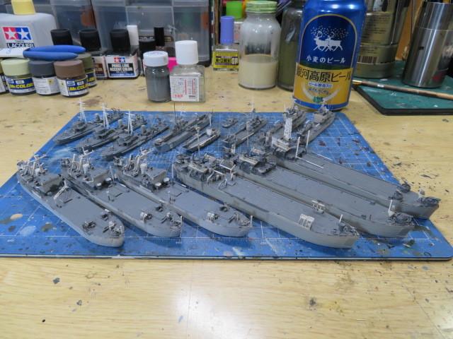 自衛艦 甲板塗装