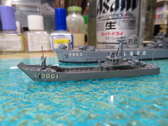 輸送艇 1号型 完成・・・
