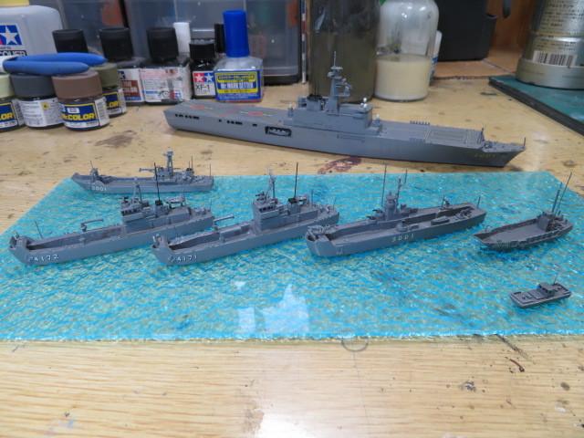 海上自衛隊 輸送艦 小型