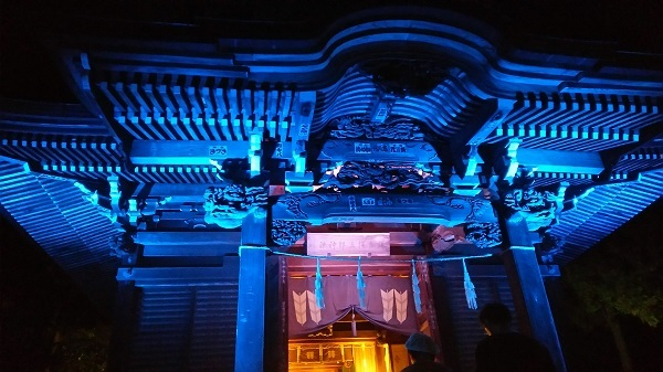 長谷観音ライトアップ