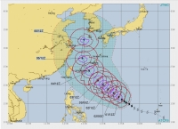 台風25-10-6予想
