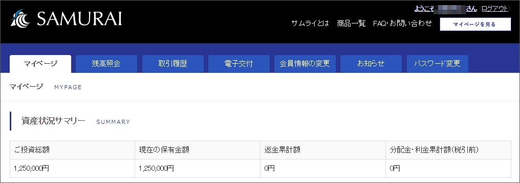 06_SAMURAI投資総額