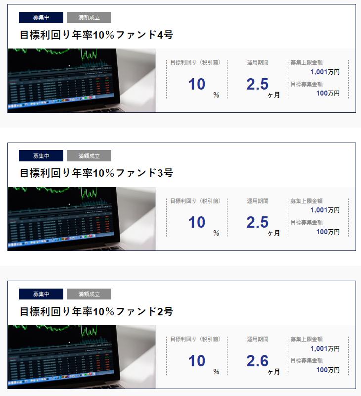 07_SAMURAI_目標利回り年率10%ファンド2_4号