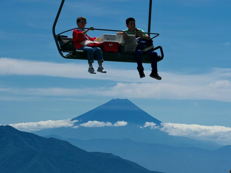 富士を飛び越えろ!