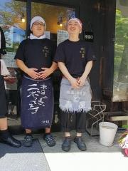 『中華ソバ 伊吹』7周年記念イベント 第一部 ~たろうの中華ソバ+豚チャーシュー~-5