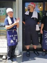 『中華ソバ 伊吹』7周年記念イベント 第一部 ~たろうの中華ソバ+豚チャーシュー~-7
