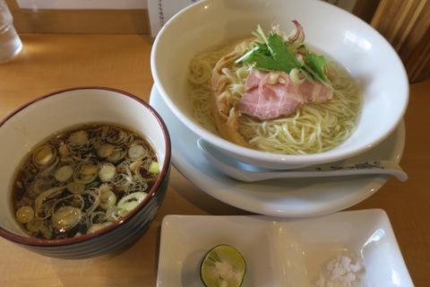 和渦(昆布水つけ麺)