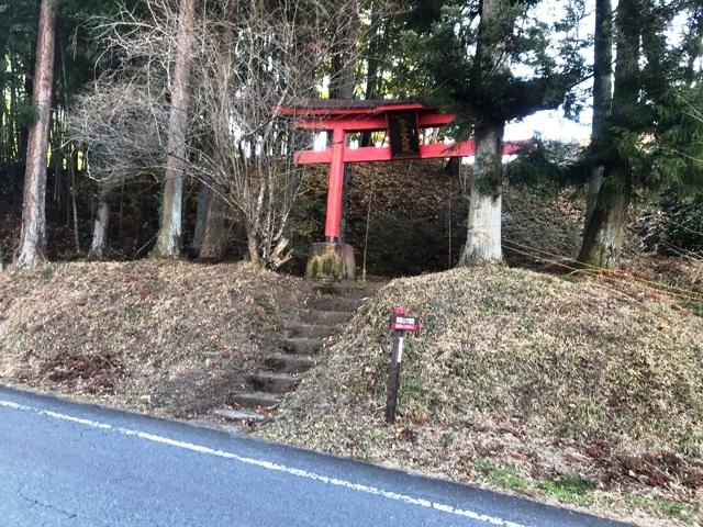 天狗山の砦 (1)