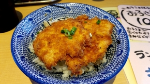 シャガララーメン肉バカ タレカツ丼