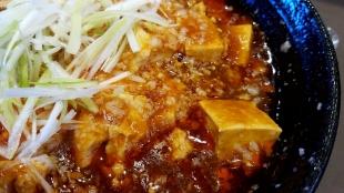 たまる屋イオン 背脂麻婆麺 具