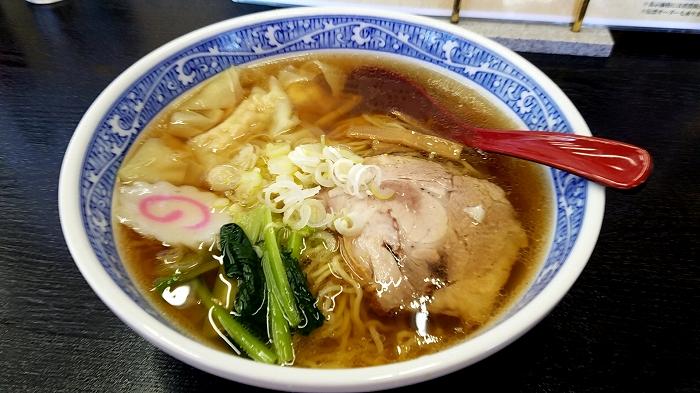 永楽横越 ワンタン麺