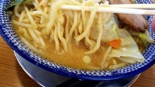 ばやし 味噌ラーメン 麺スープ