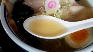 ぐわらん洞 肉ソバ スープ