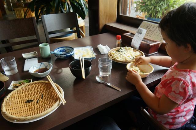 岩戸屋さんで久しぶりにうどんを食べる