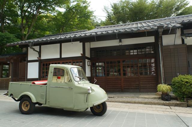 高尾山の和菓子屋さんとミゼット