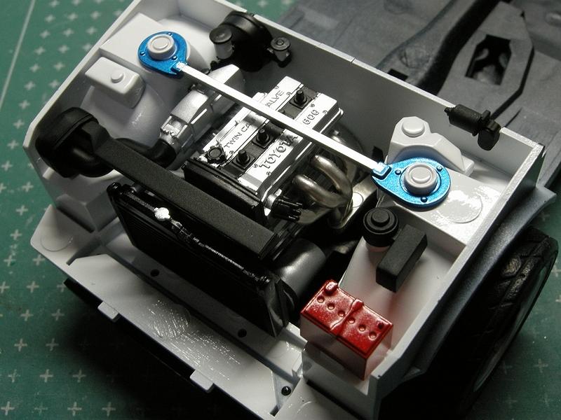 バッテリーは某GSのものをそれっぽく
