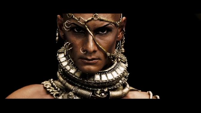 300-Rodrigo Santoro as Xerxes up