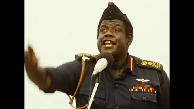 tlkos-Forest Whitaker as Idi Amin