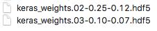 Kerasで生成した係数ファイル2