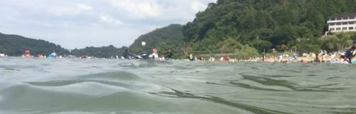宮ヶ浜湖水浴場