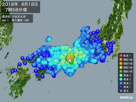 大阪府北部地震2