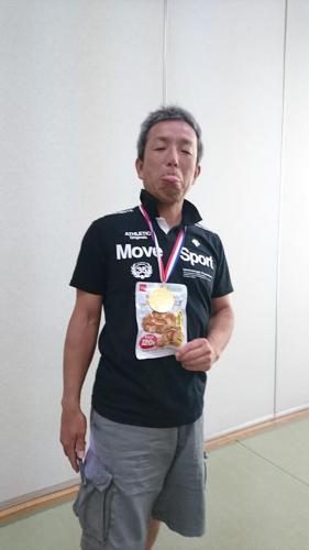 ドングリ金メダル