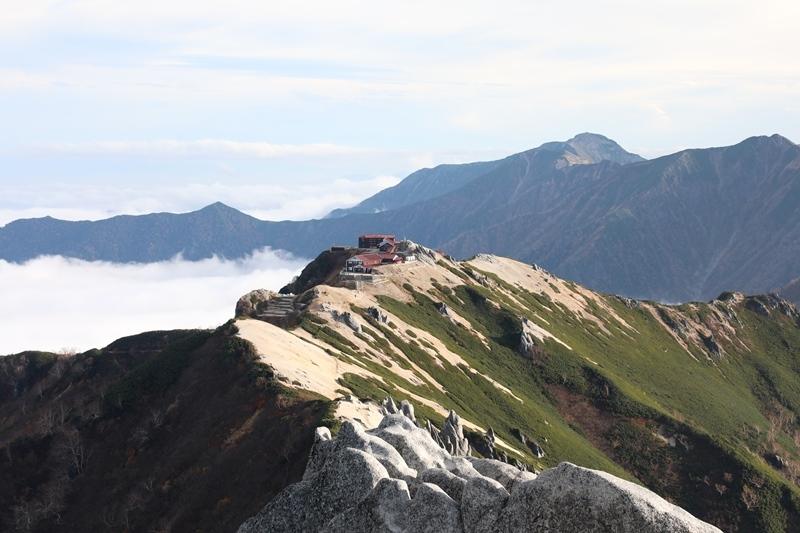 燕岳登山10181003