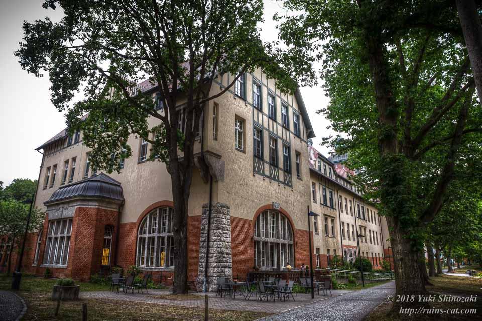 廃墟を改装したリハビリ施設「RECURA Kliniken GmbH」