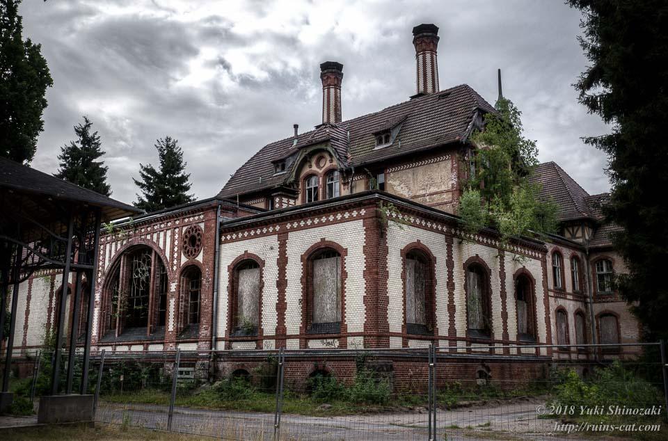 ベーリッツ・ハイルシュテッテン・サナトリウム(Beelitz-Heilstätten Sanatorium)_当初の目的地としていた廃墟