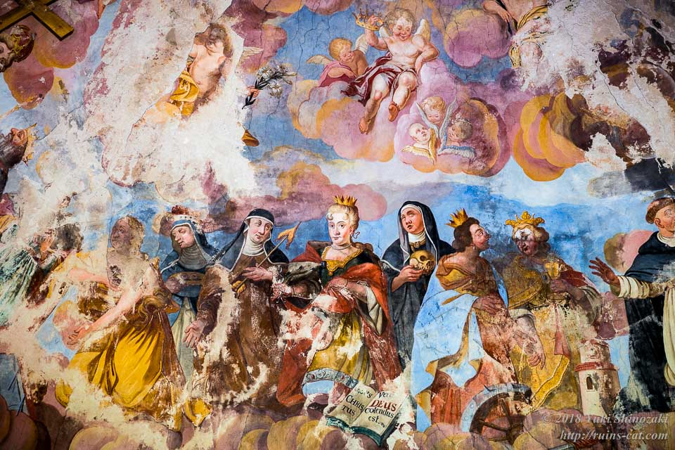 礼拝堂のフレスコ画 その1