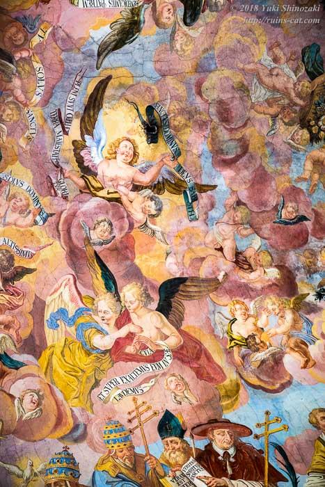 礼拝堂のフレスコ画 その2