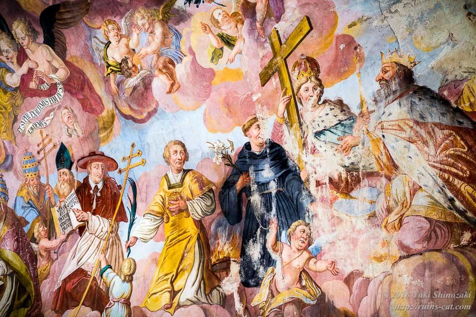 礼拝堂のフレスコ画 その3