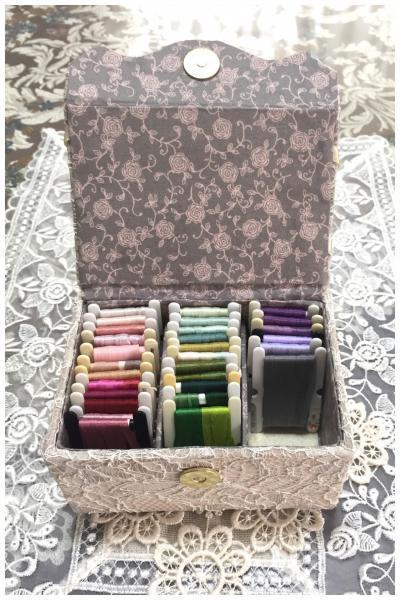 リボン刺繍ケース (2)