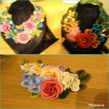 フェルト刺繍 (3)