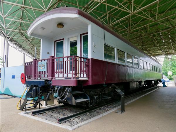 prm1809090002-p4_日本とのつながりも見える 韓国鉄道100年の歴史_大統領専用客車。1955年に大統領専用車に改装された