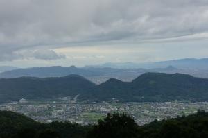 紫雲山峰山トンネルから前田山1
