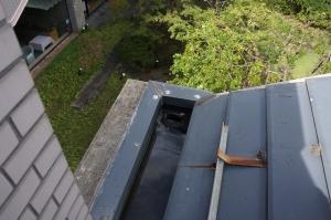 谷樋の雨漏れ4