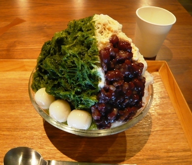 入り口屋:稲荷山(抹茶・ミルク・金時・白玉)2