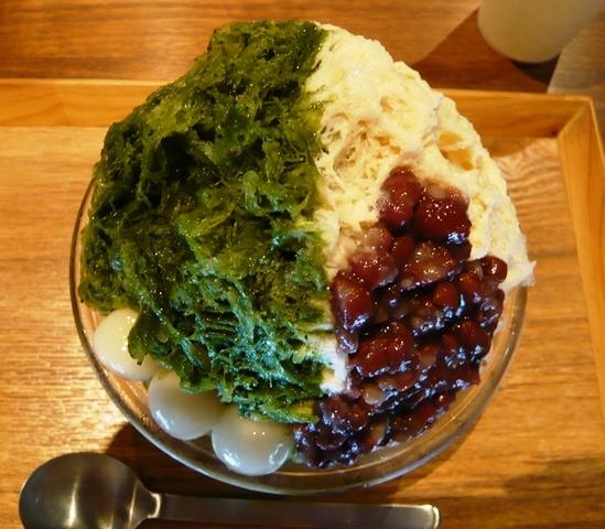 入り口屋:稲荷山(抹茶・ミルク・金時・白玉)3