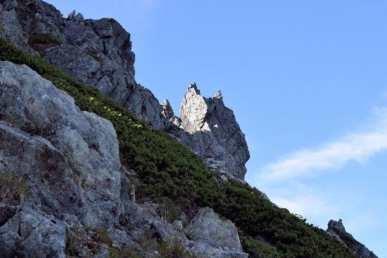 カニのハサミ岩峰