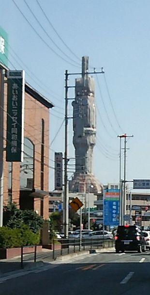川越市の謎のタワー