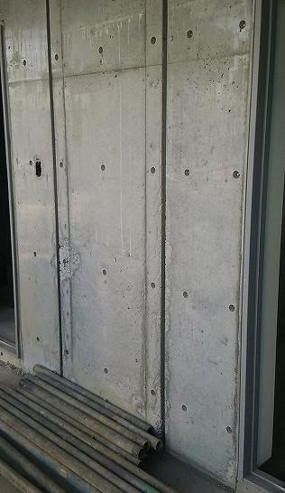 新築マンションのコンクリート補修