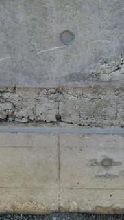 見た目の悪いコンクリートの打設不良補修