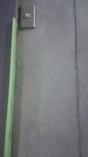 汚いコンクリートの内壁を綺麗に仕立て直し