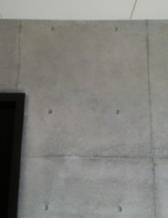 壁クラック補修跡の美装仕上げ