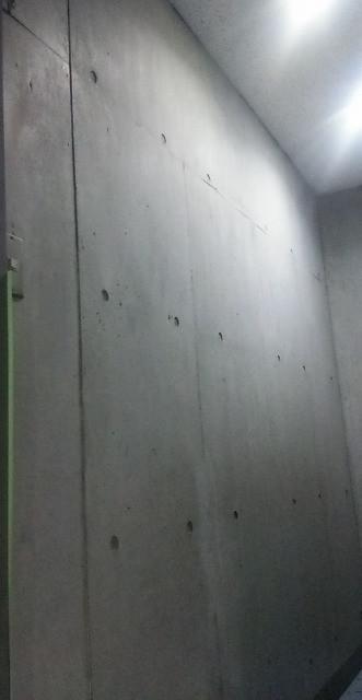コンクリートの補修跡を綺麗に仕上げる