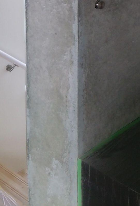 コンクリートの補修跡をわからなく綺麗に仕上げ