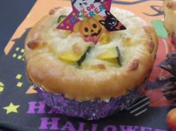 かぼちゃのキッシュパン2