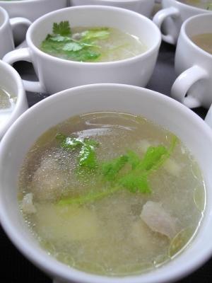 20180901鶏と筍のすっぱいスープ