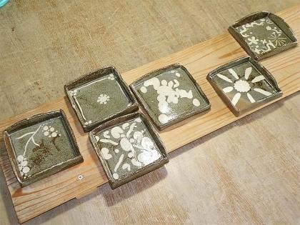 一日体験陶芸教室「親子で陶芸体験」作品完成